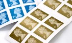 Generic stamp postage stamps / ALAMY